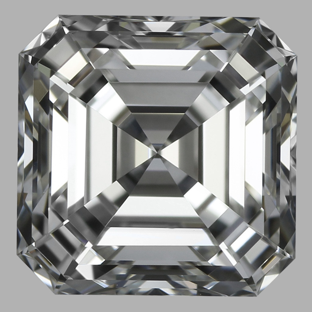 0.91 Carat Asscher Diamond (G/IF)