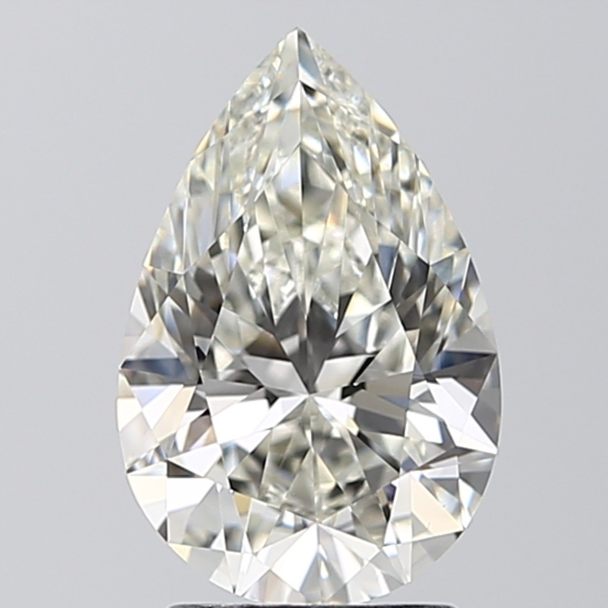 2.01 Carat Pear Diamond (J/VS1)