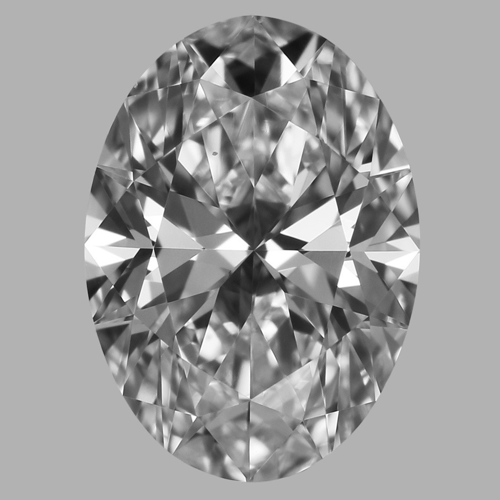0.75 Carat Oval Diamond (D/VS2)