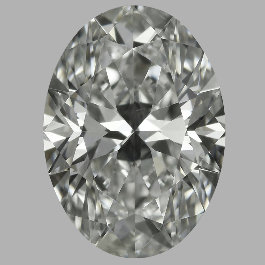 0.90 Carat Oval Diamond (I/VS2)