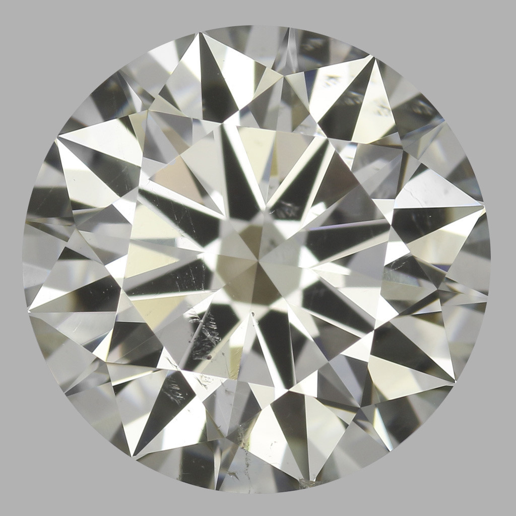 2.01 Carat Round Brilliant Diamond (J/SI1)