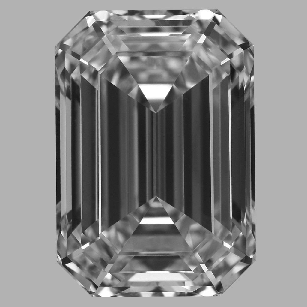 3.02 Carat Emerald Diamond (D/FL)