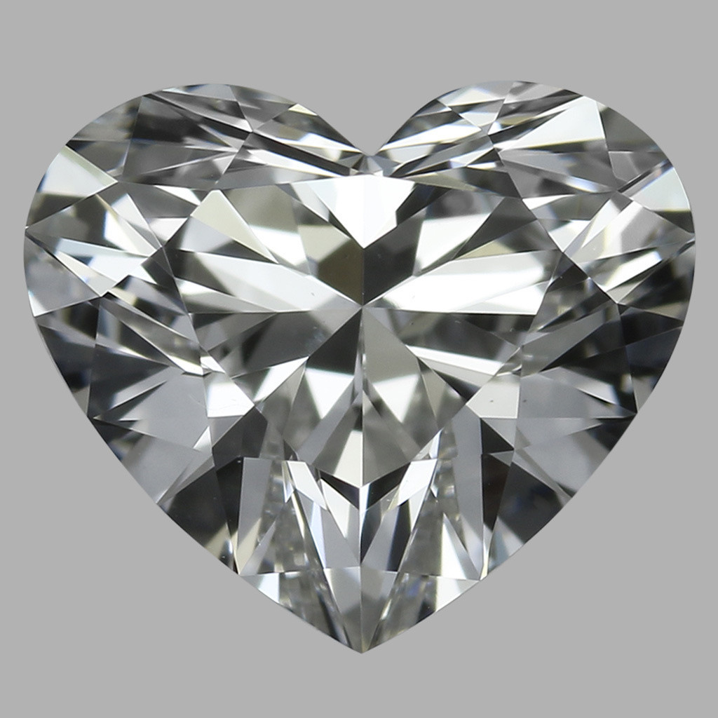 0.75 Carat Heart Diamond (E/VS1)