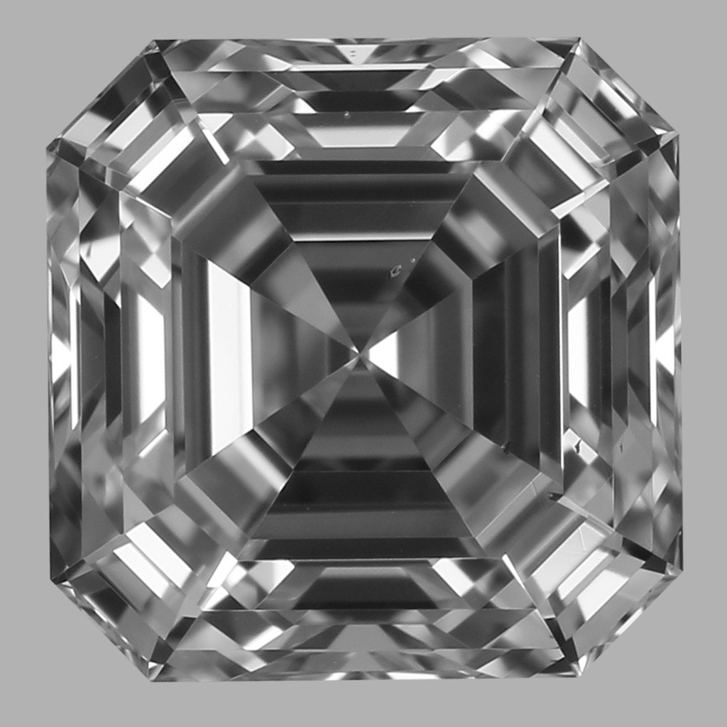 0.80 Carat Asscher Diamond (E/VS2)