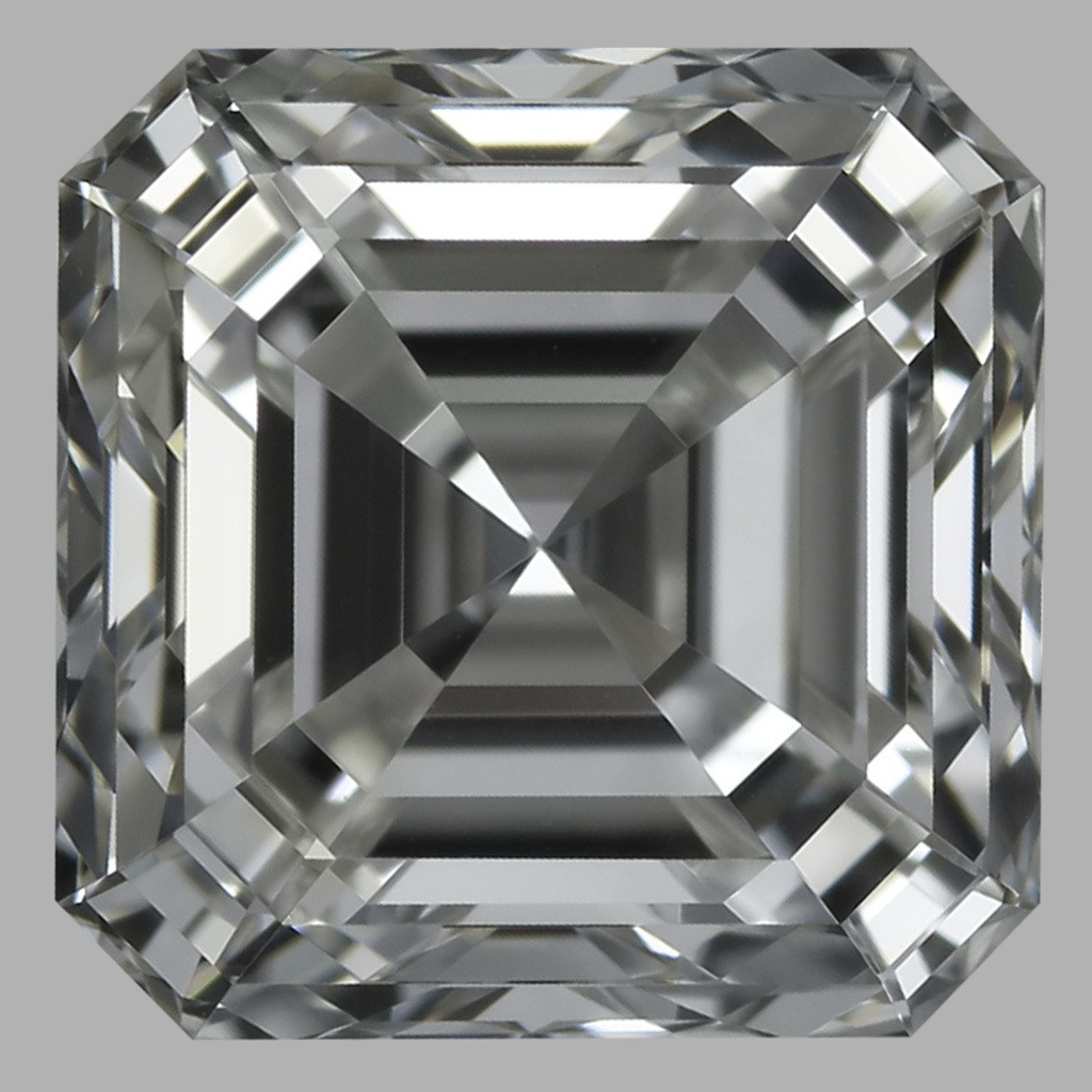 1.02 Carat Asscher Diamond (G/VS1)