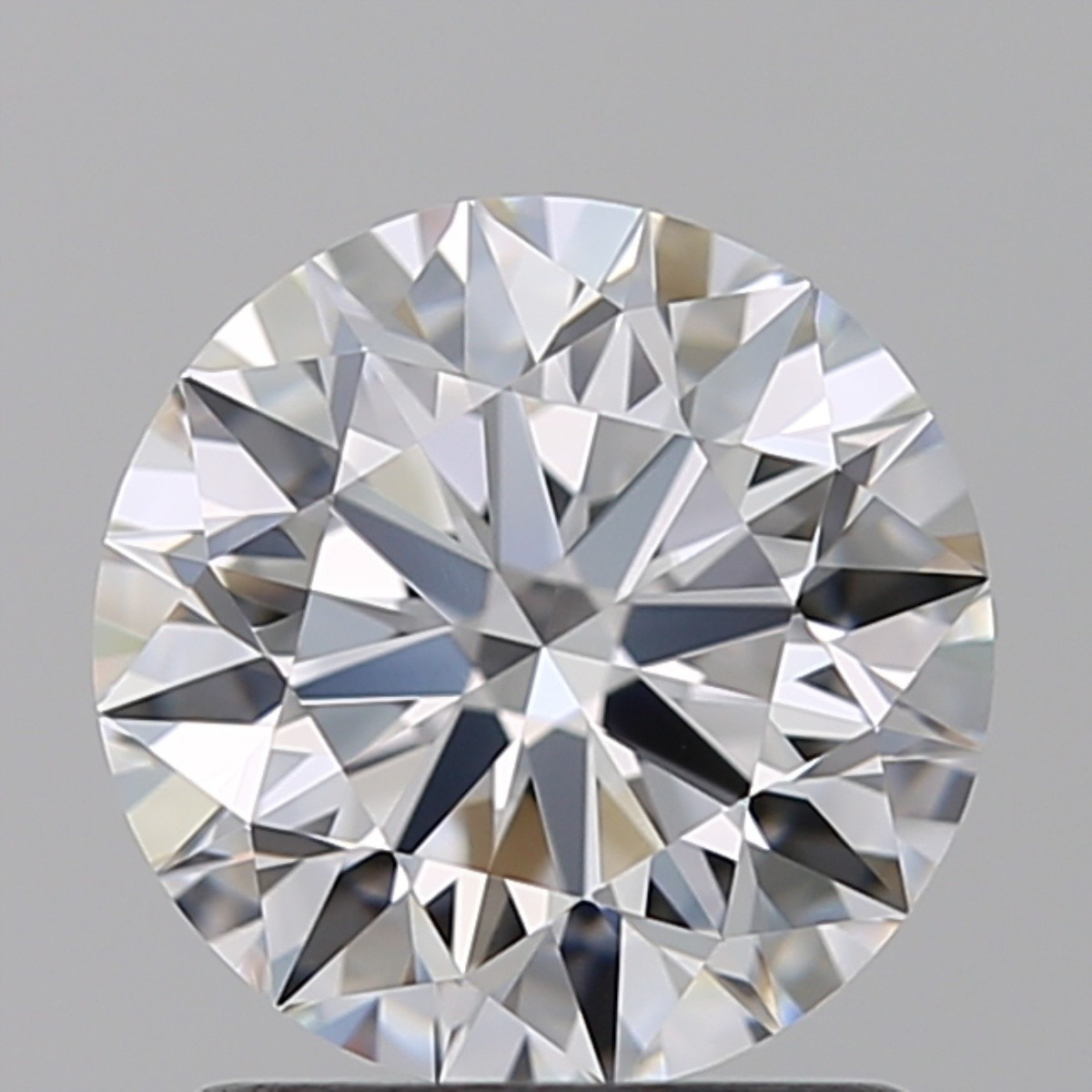 1.29 Carat Round Brilliant Diamond (D/VVS2)