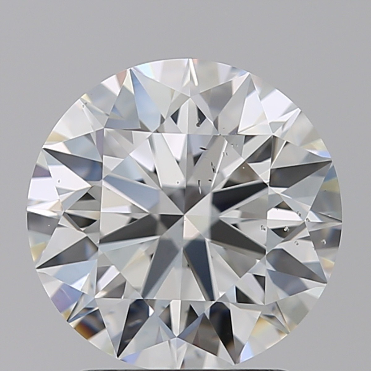 2.04 Carat Round Brilliant Diamond (G/SI1)