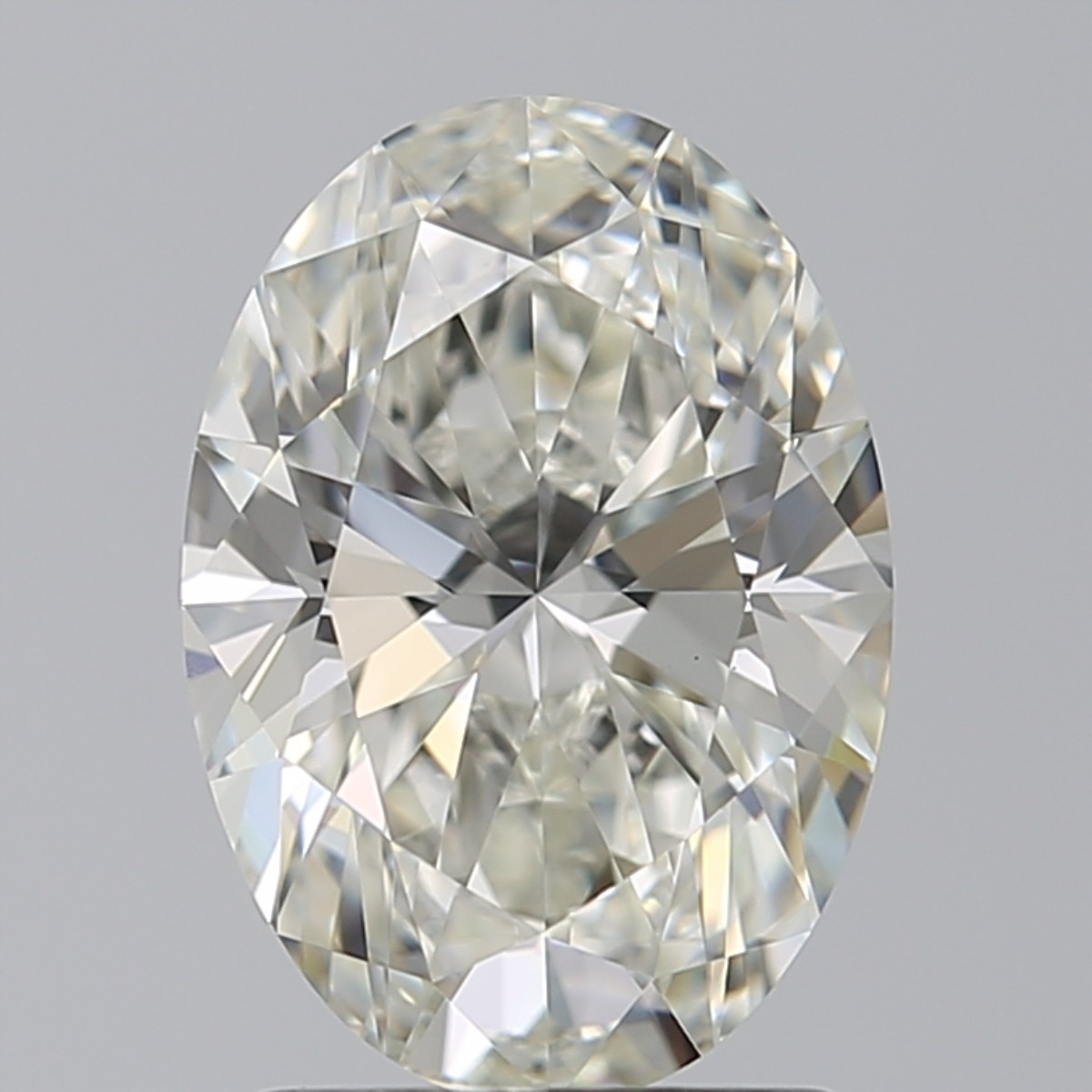 1.70 Carat Oval Diamond (I/VS2)