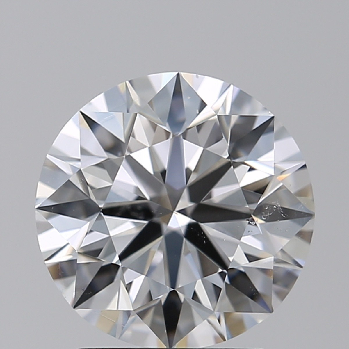 2.00 Carat Round Brilliant Diamond (D/SI1)