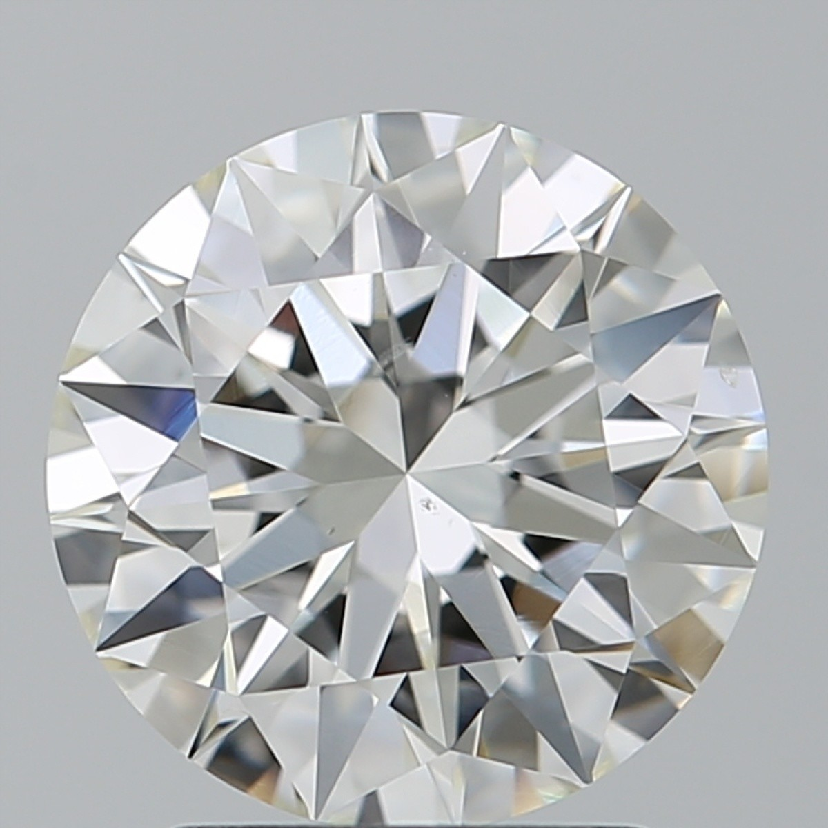 2.02 Carat Round Brilliant Diamond (H/VS2)