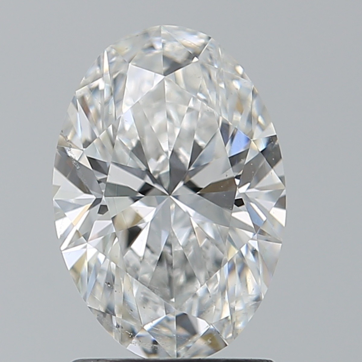 1.50 Carat Oval Diamond (E/SI1)