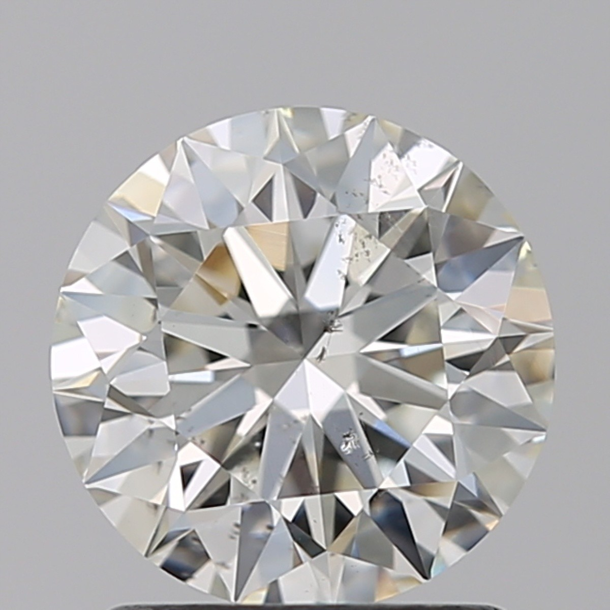 1.30 Carat Round Brilliant Diamond (J/SI1)