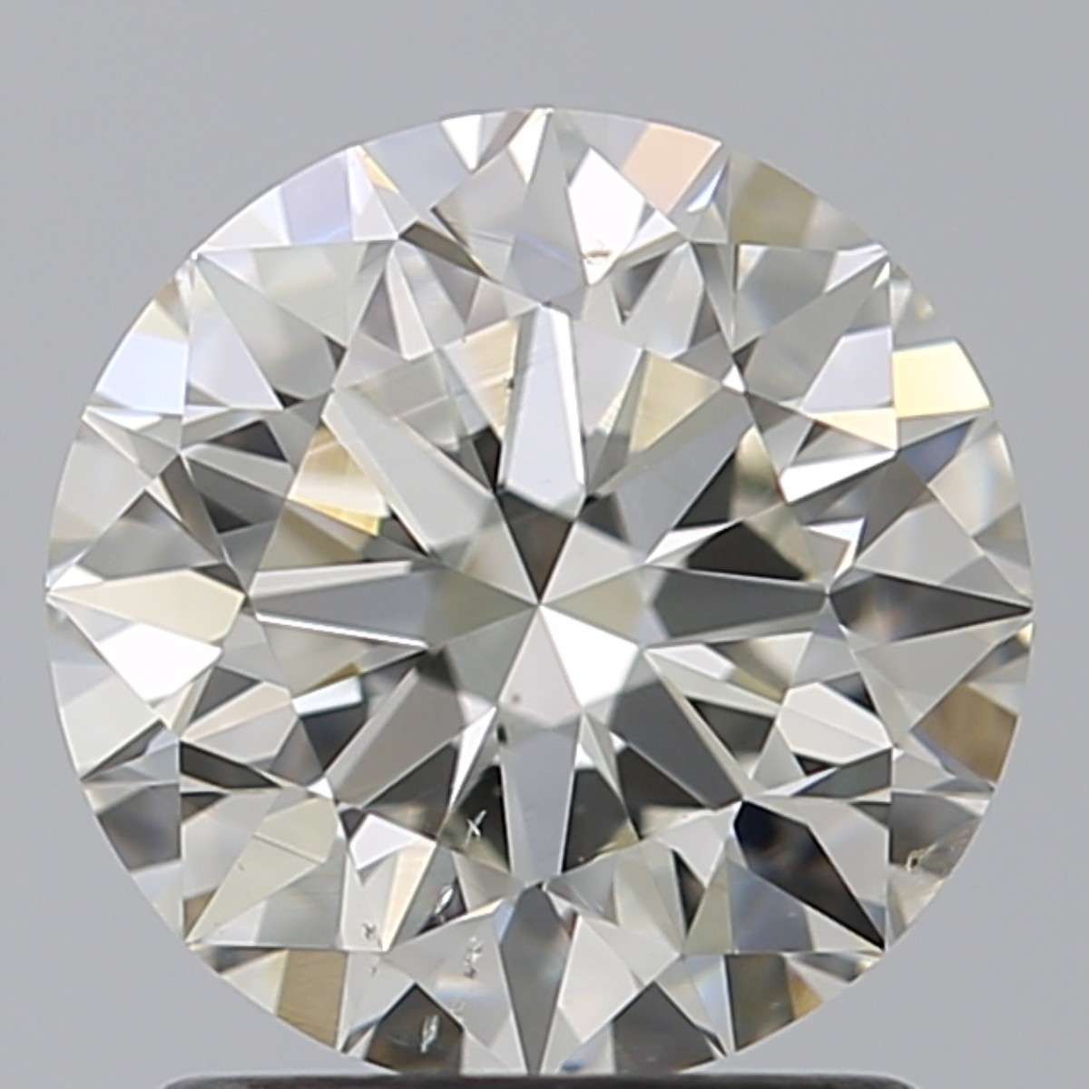 1.50 Carat Round Brilliant Diamond (J/SI1)