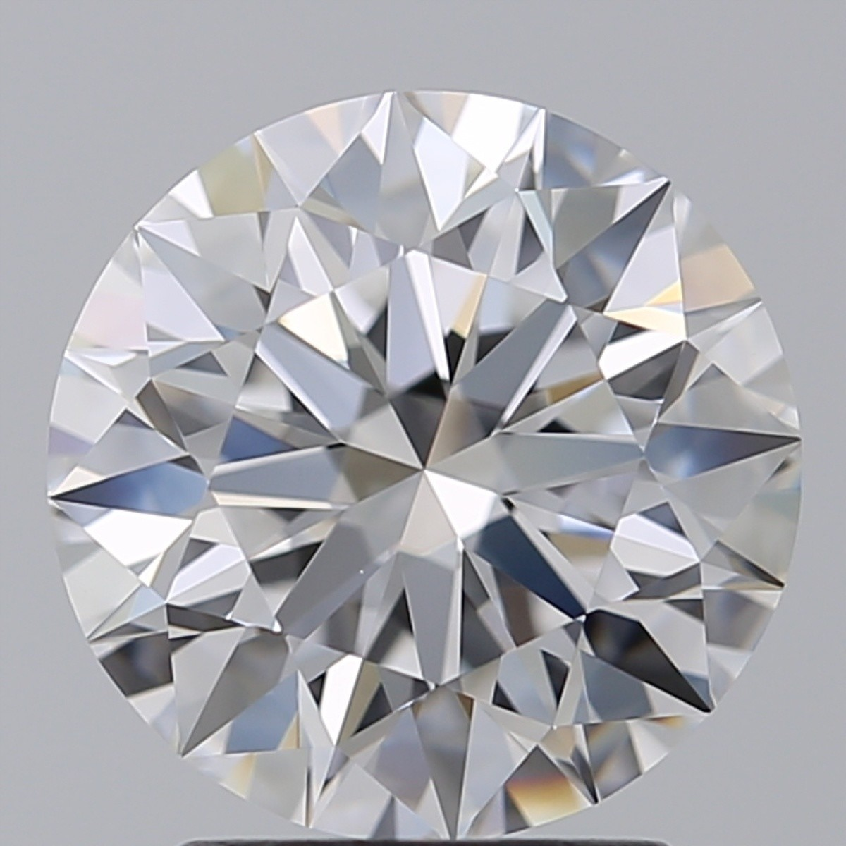 2.51 Carat Round Brilliant Diamond (D/VS1)