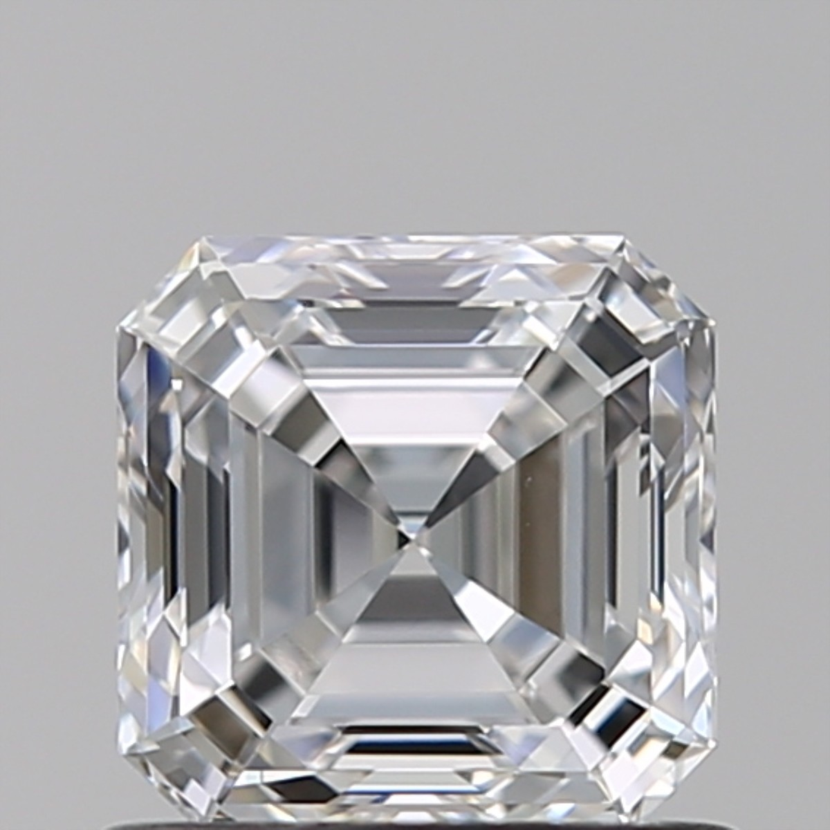 0.90 Carat Asscher Diamond (E/VS1)