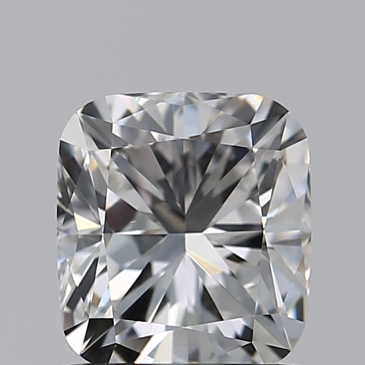 0.90 Carat Cushion Diamond (F/VVS1)