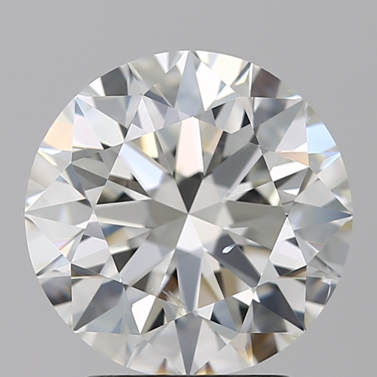 2.55 Carat Round Brilliant Diamond (I/SI2)