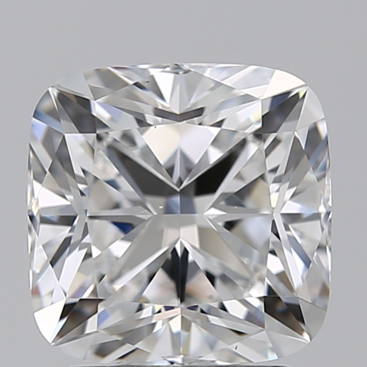 2.01 Carat Cushion Diamond (E/VS2)