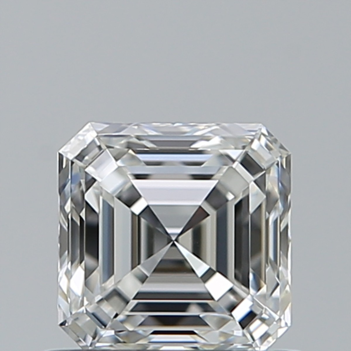 0.76 Carat Asscher Diamond (G/VS1)