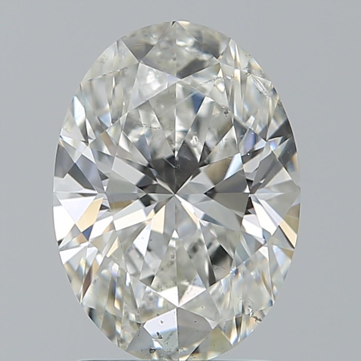 1.71 Carat Oval Diamond (H/SI1)