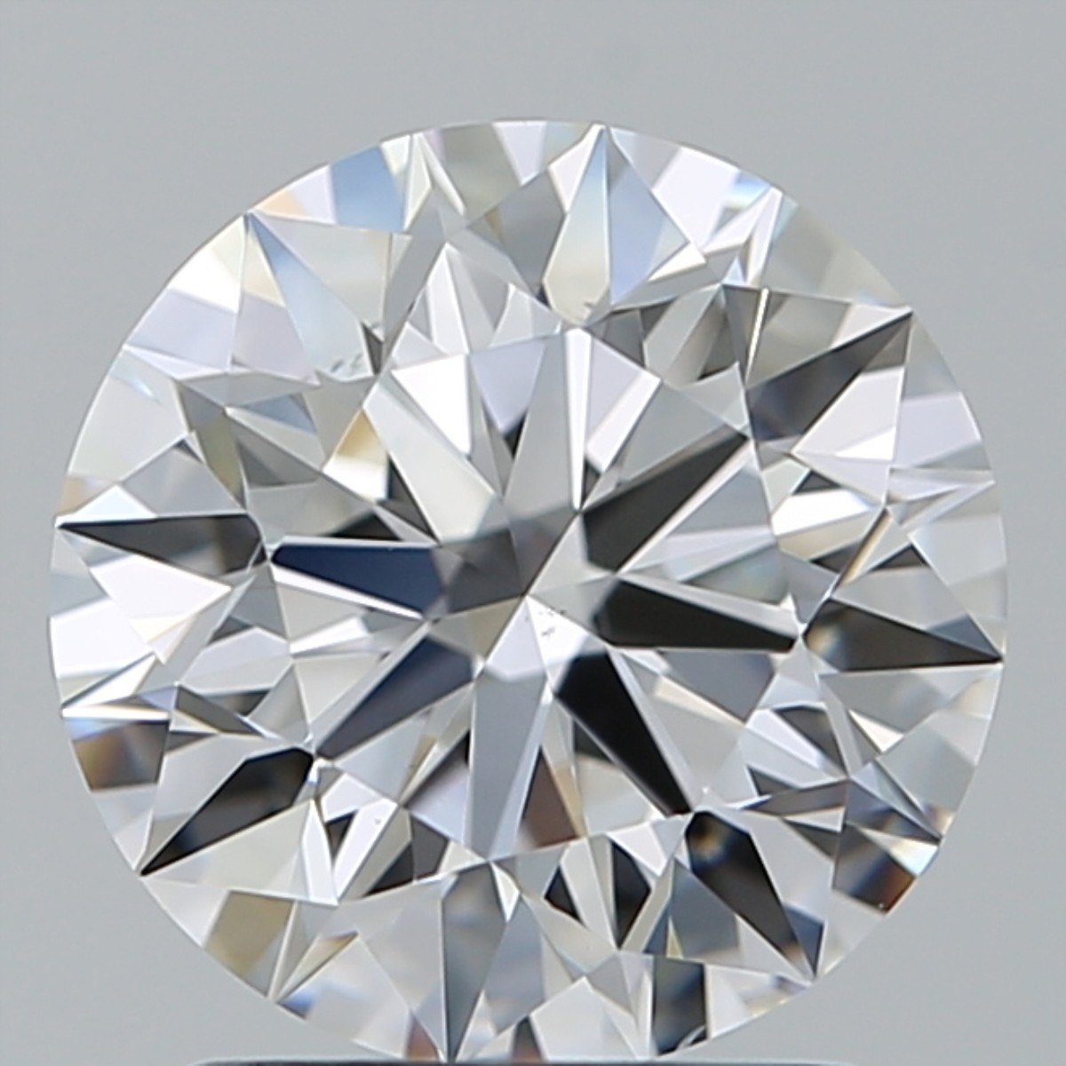 1.81 Carat Round Brilliant Diamond (D/VS2)