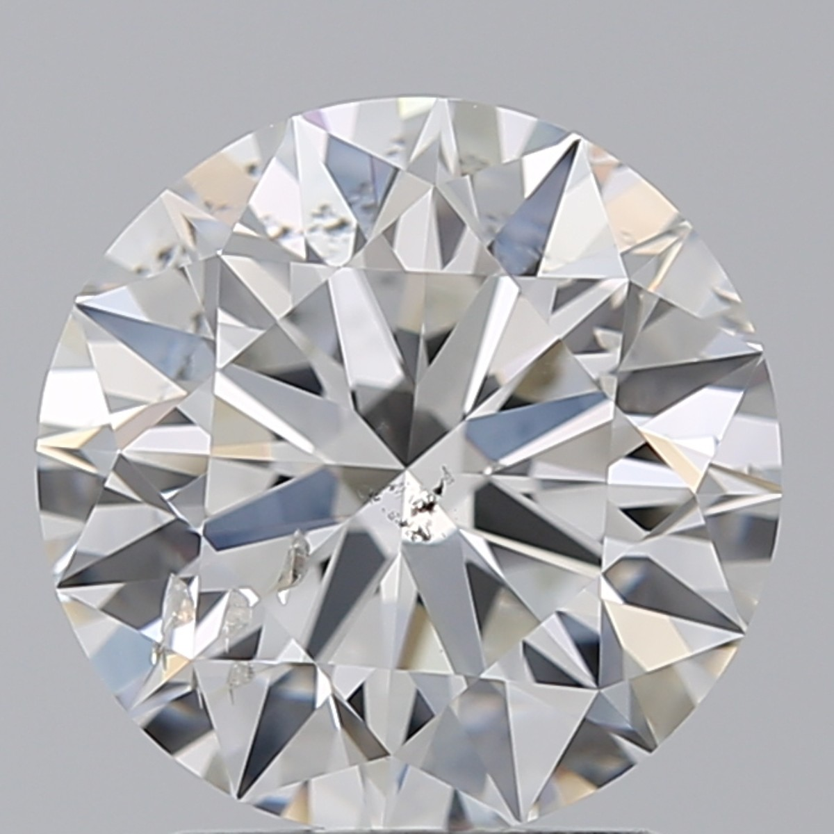 2.01 Carat Round Brilliant Diamond (G/SI2)