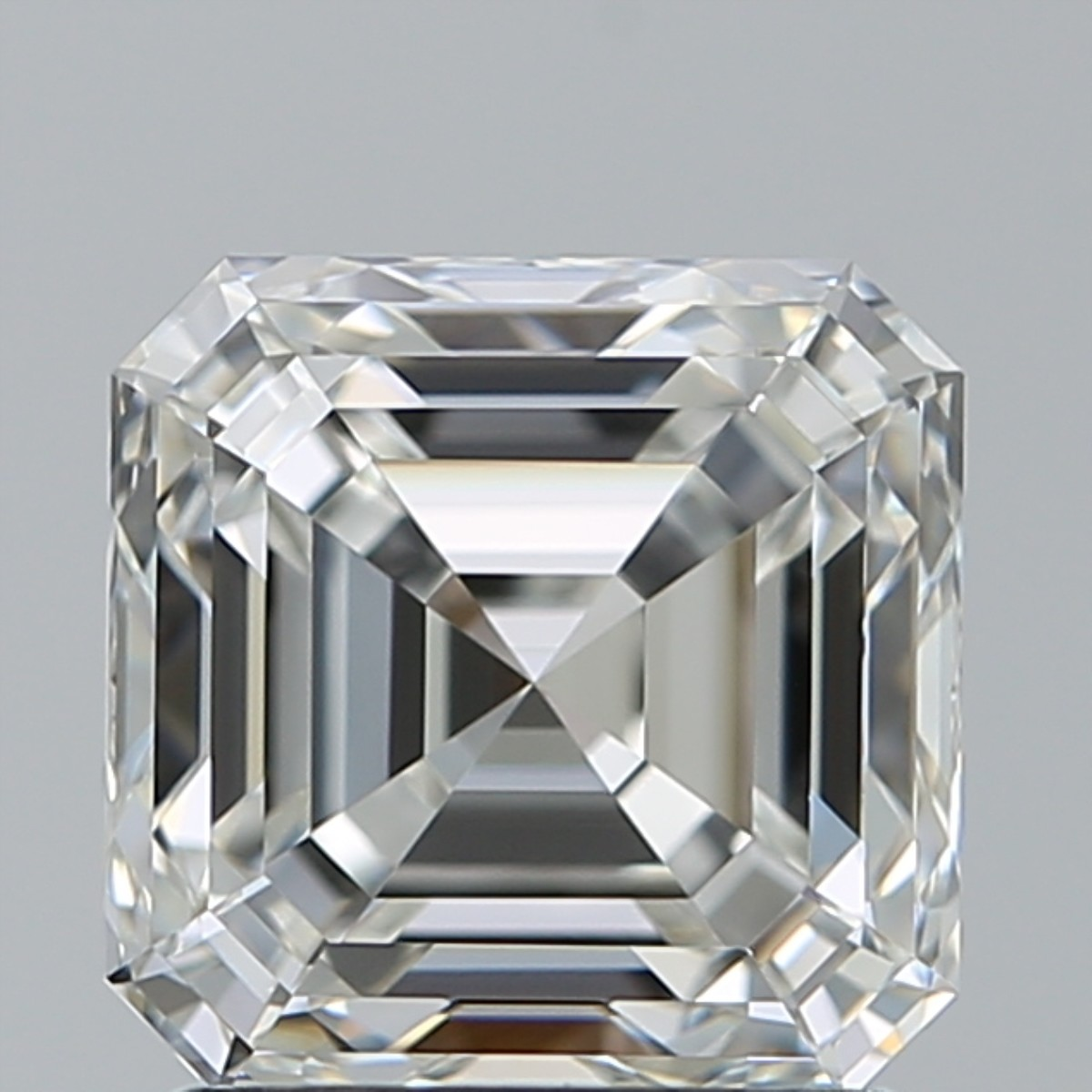 1.70 Carat Asscher Diamond (H/IF)