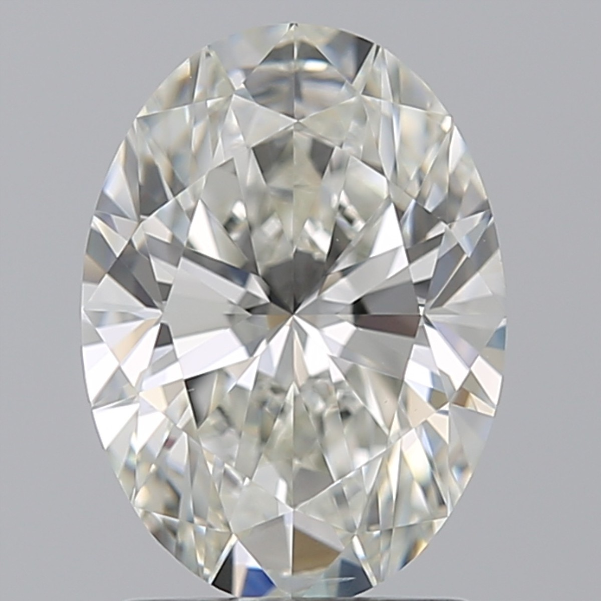 1.50 Carat Oval Diamond (I/VS2)