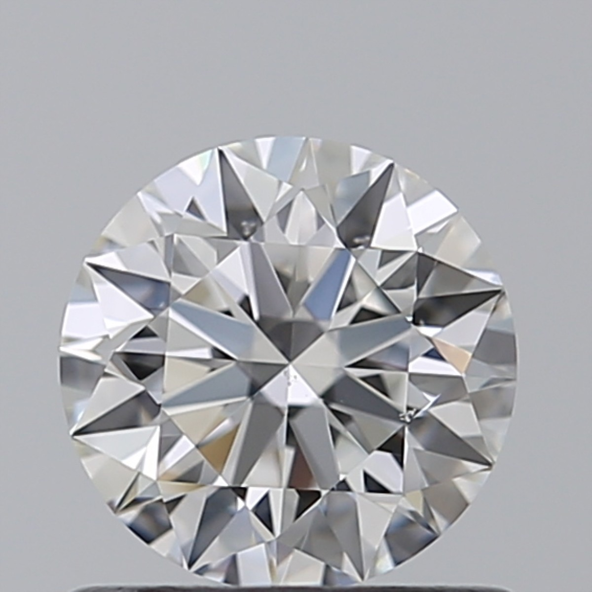 0.77 Carat Round Brilliant Diamond (F/VS2)