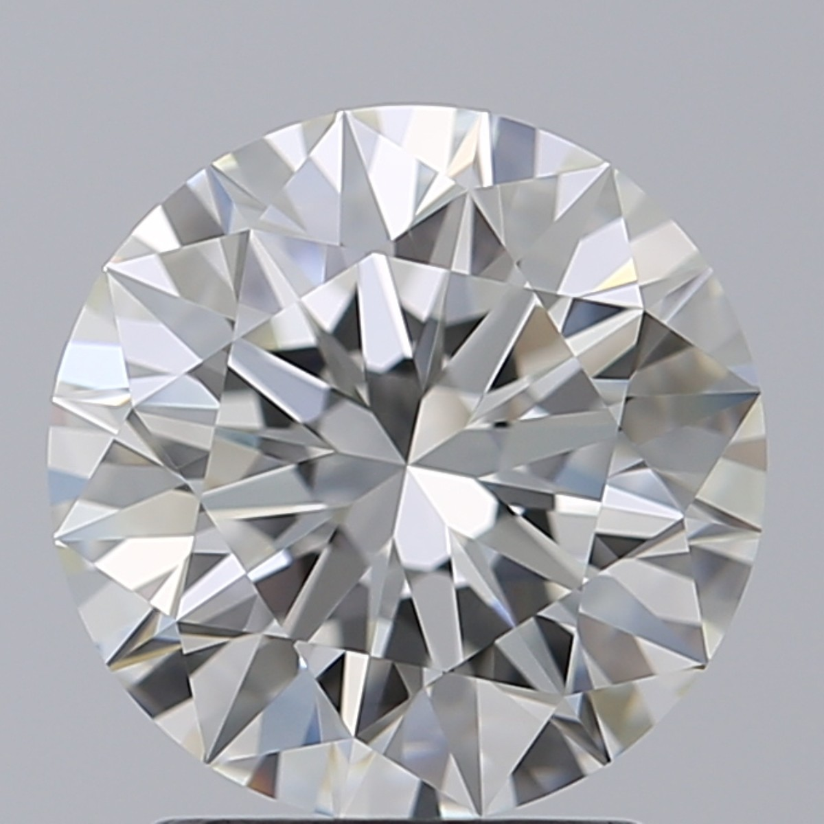 2.07 Carat Round Brilliant Diamond (I/VVS1)