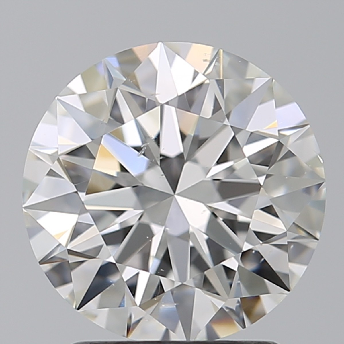 2.02 Carat Round Brilliant Diamond (E/SI1)