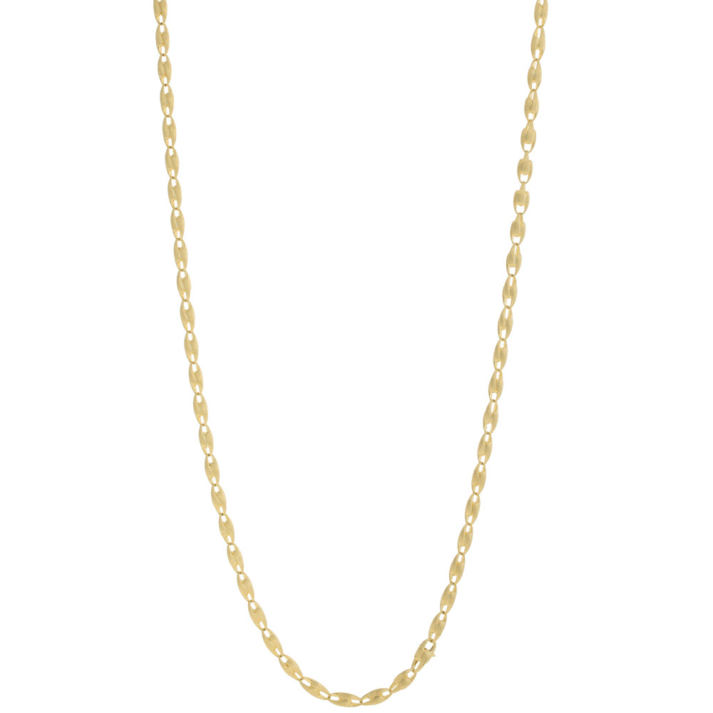 "18k Yellow Gold ""Lucia"" Longchain Necklace"