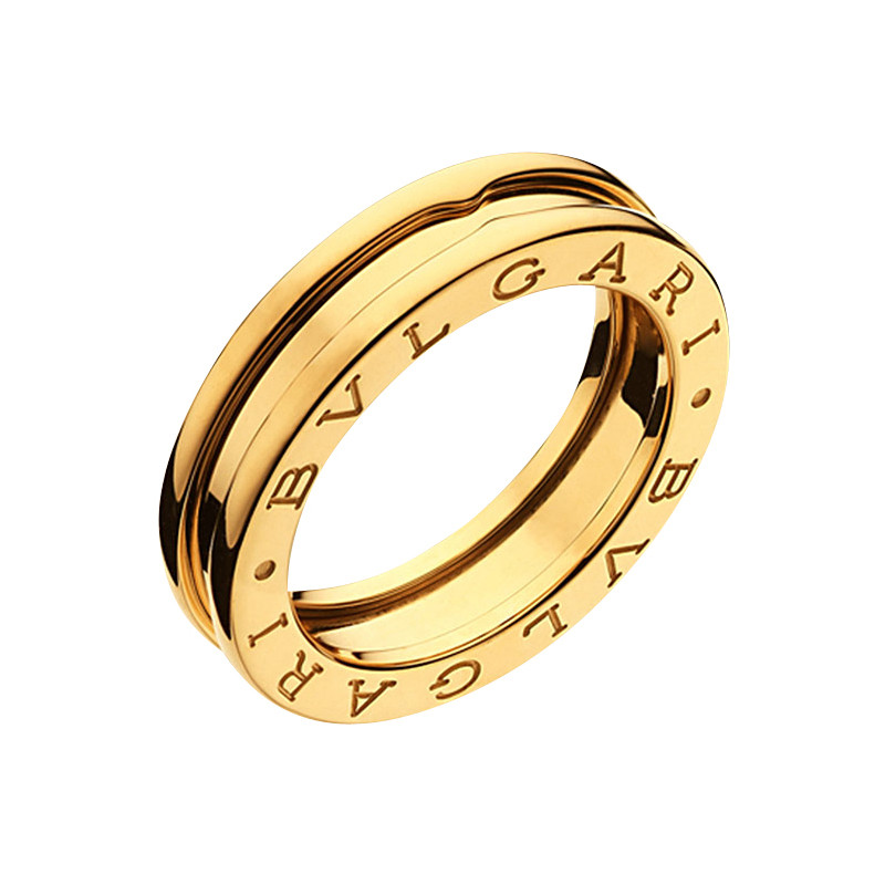 "18k Yellow Gold ""B.Zero1"" 1-Band Ring"
