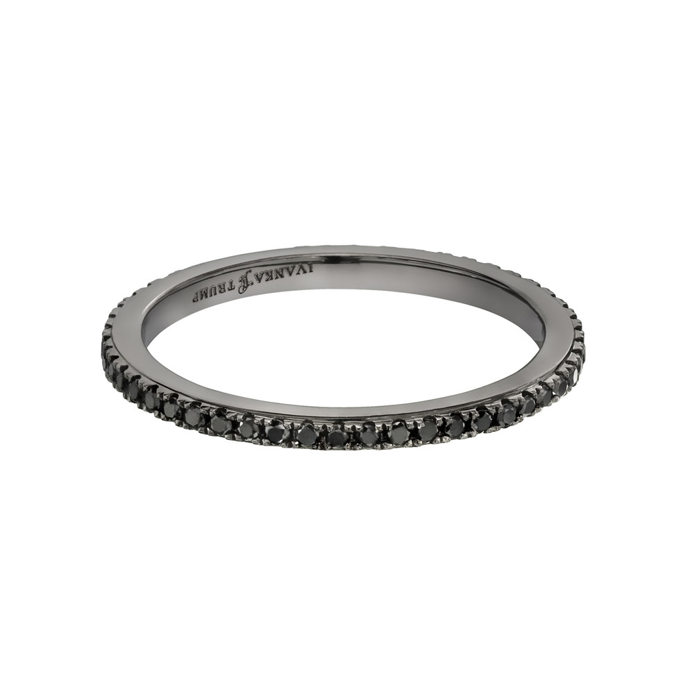 Thin Black Diamond Eternity Band (0.27 ct tw)