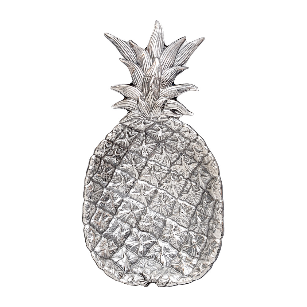 Small Silver Pineapple Dish