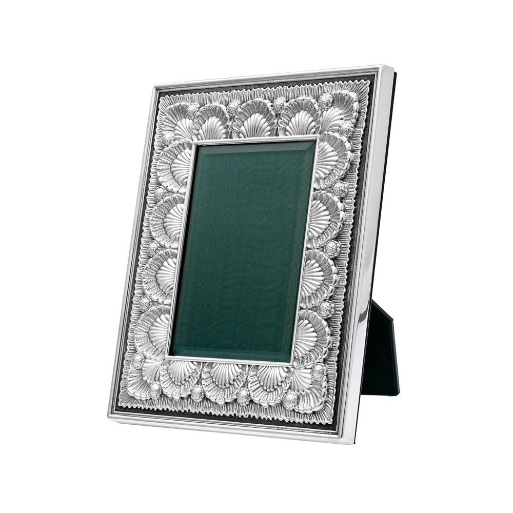"""Silver Shell Frame (3 x 5"""")"""