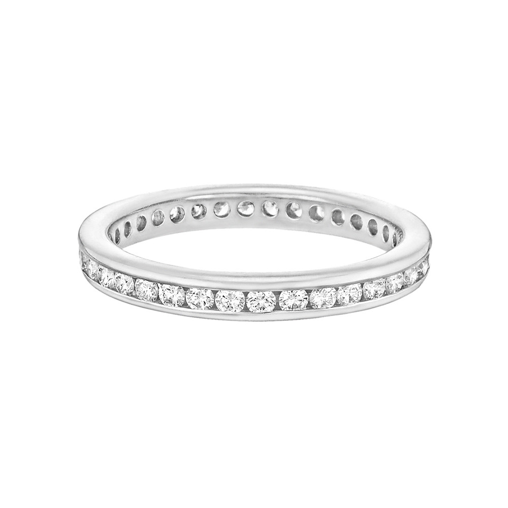 Channel-Set Diamond Eternity Band (0.49 ct tw)