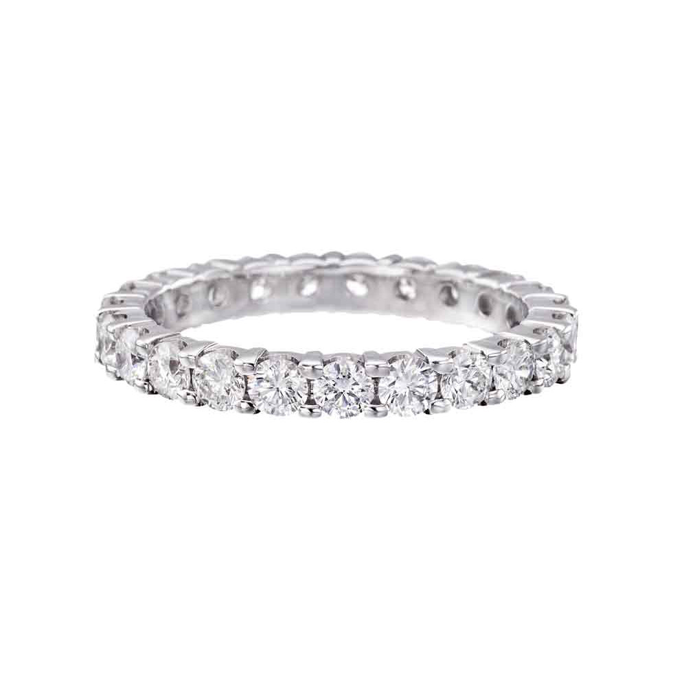 Round Brilliant Diamond Eternity Band (2.18 ct tw)