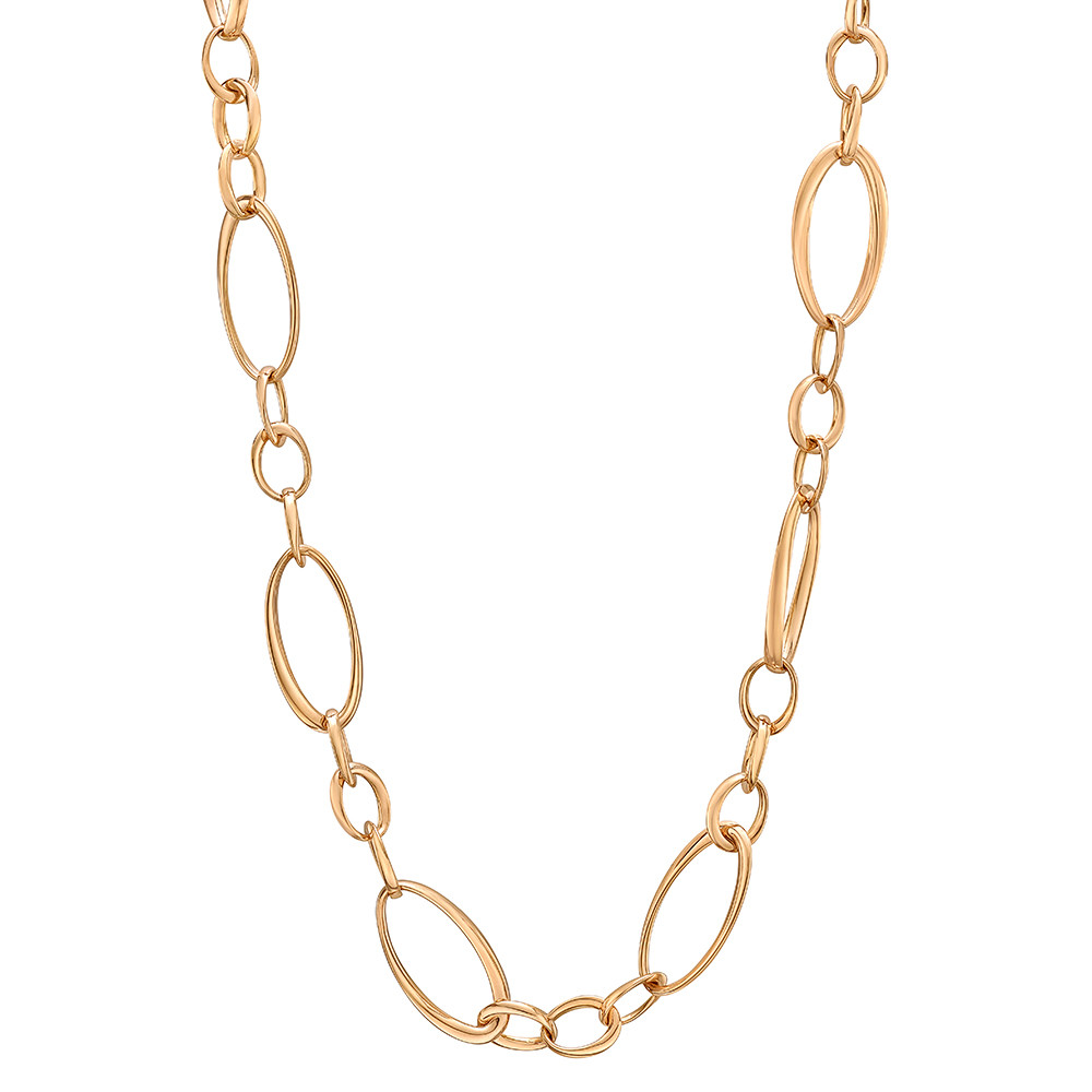 products link chains necklace oval above