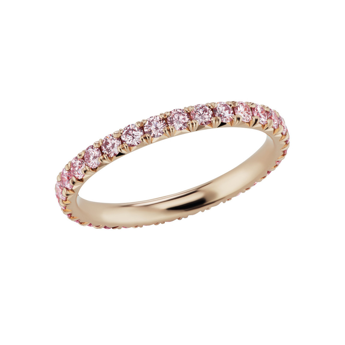 Pink Diamond Eternity Band Ring (1.62ct tw)