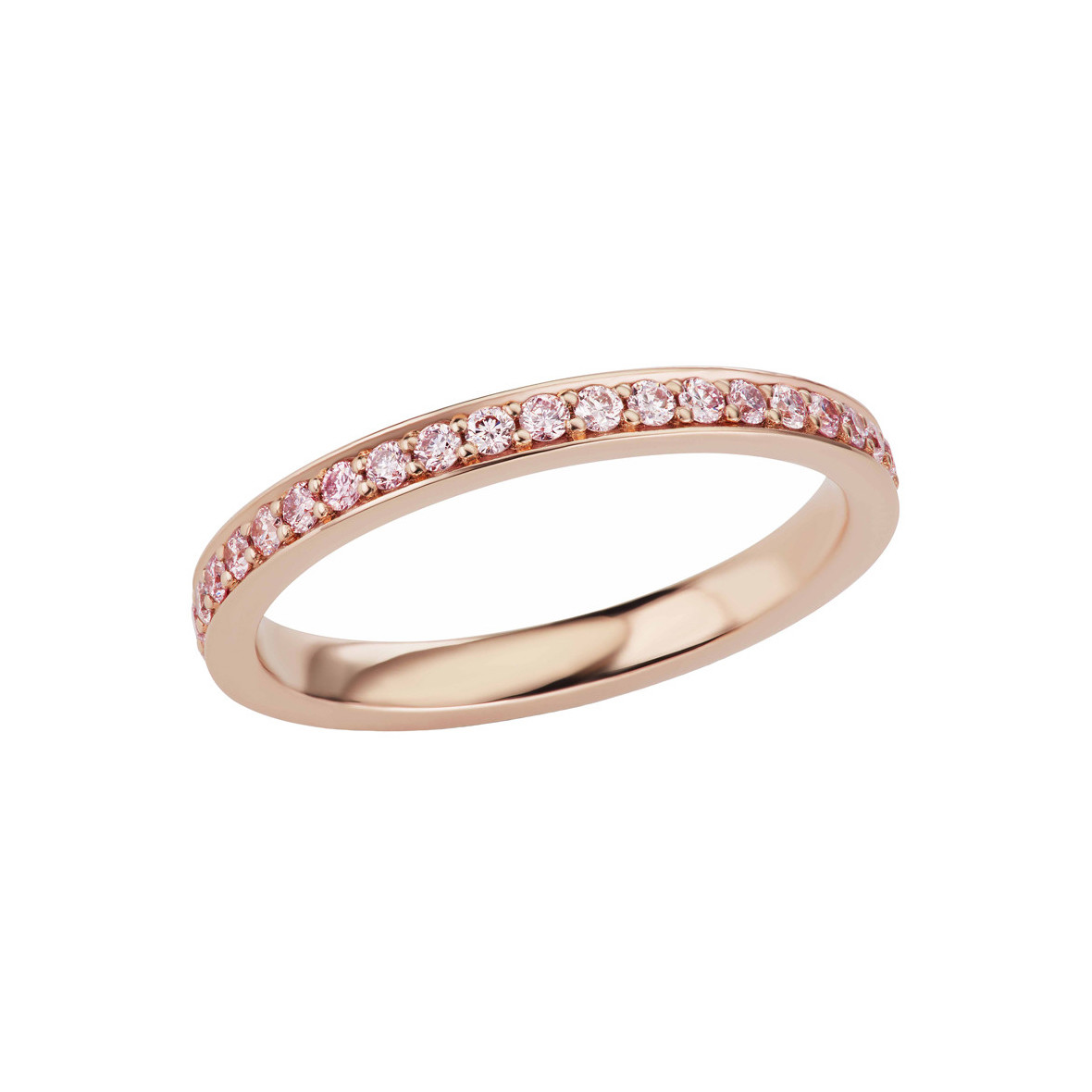 Pink Diamond Eternity Band Ring (0.49ct tw)