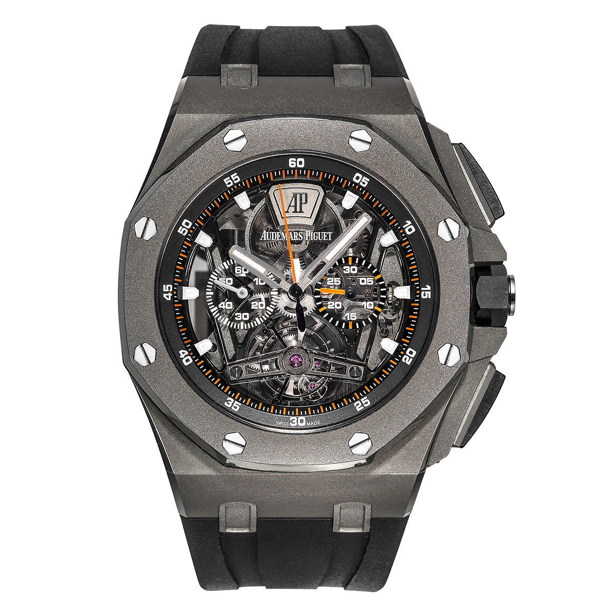 Royal Oak Offshore Tourbillon Chronograph (26407TI.GG.A002CA.01)