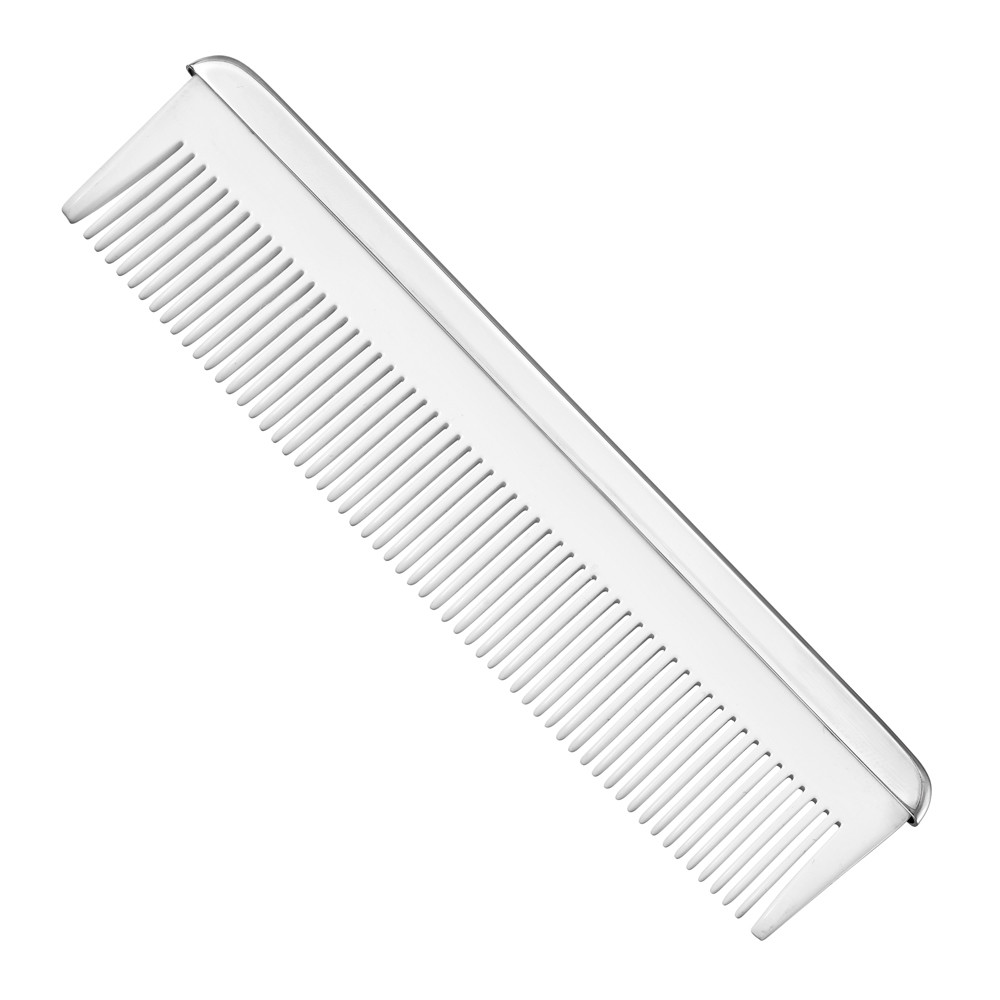Silver Baby Comb