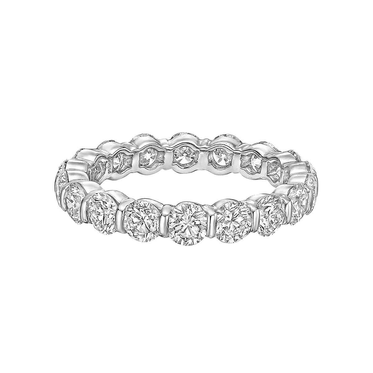 Bar-Set Diamond Eternity Band (2.73ct tw)
