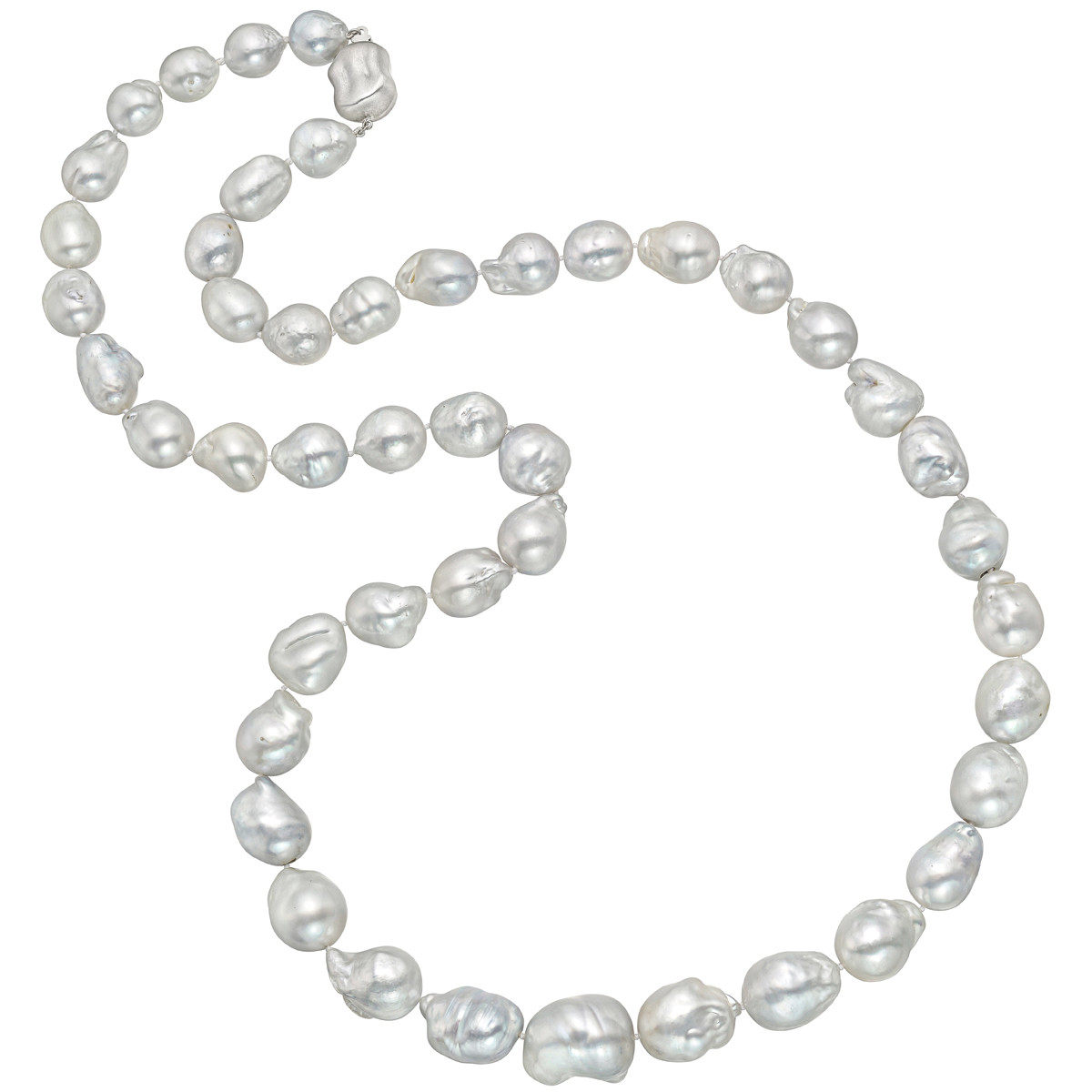 Baroque South Sea Pearl Long Necklace