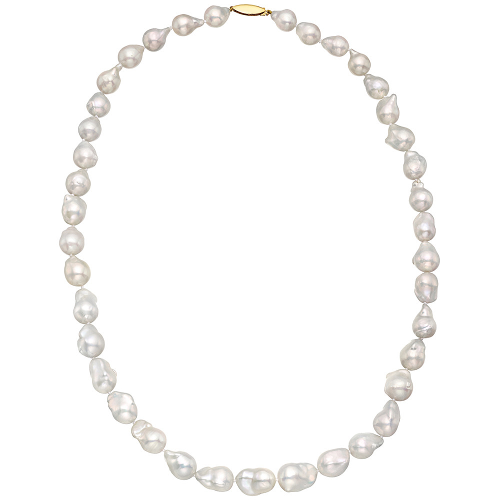 Cultured Baroque Pearl Necklace