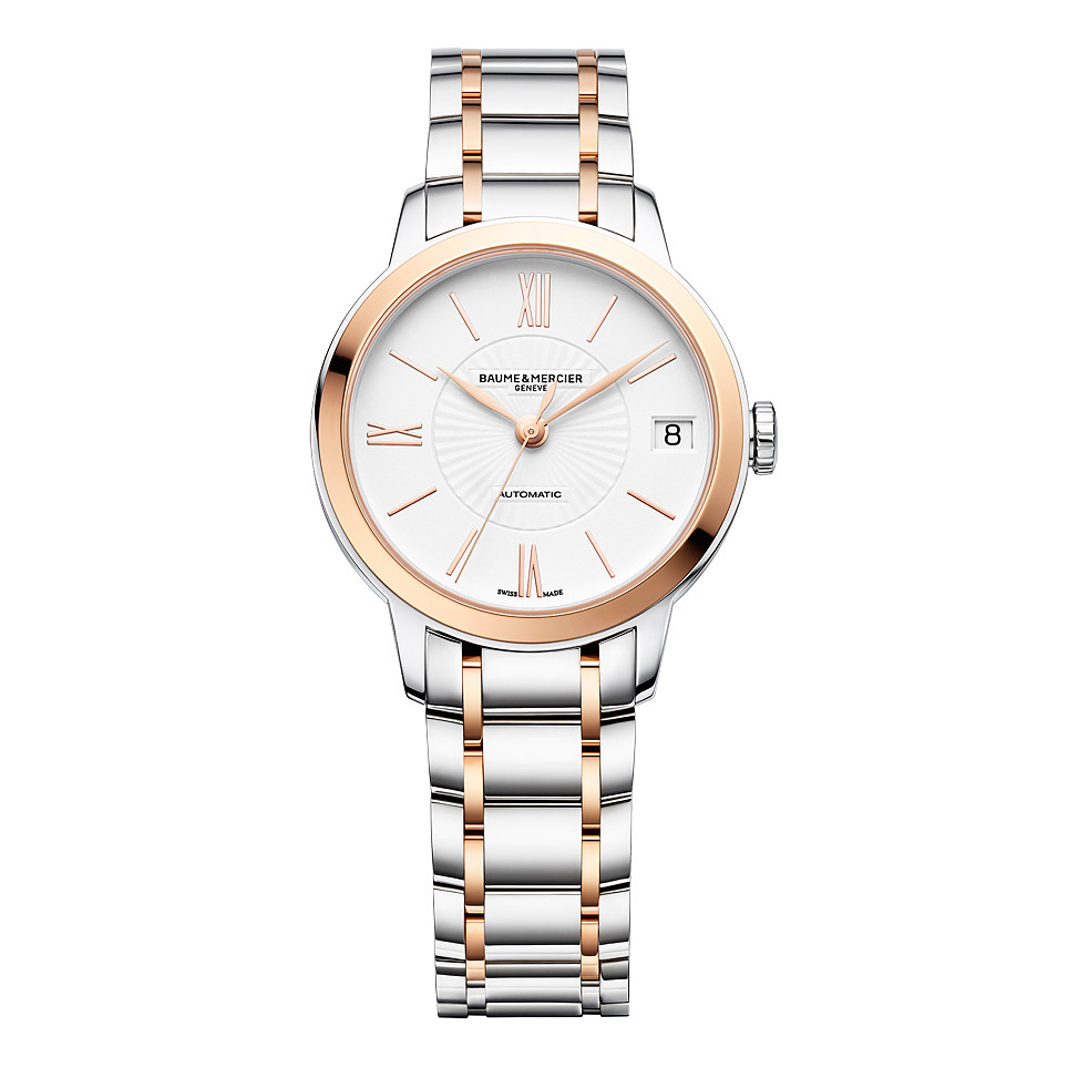 Ladies' Classima 31mm Steel & Rose Gold (10269)