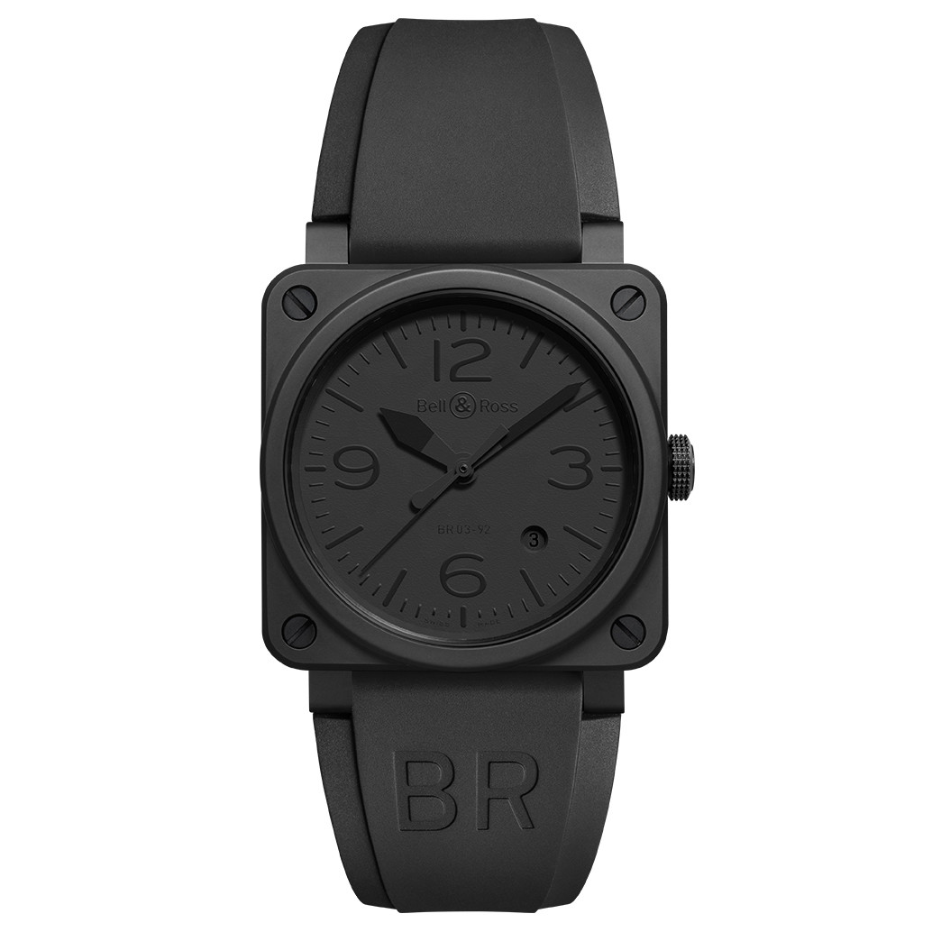 "BR 03-92 ""Phantom"" Black Ceramic"