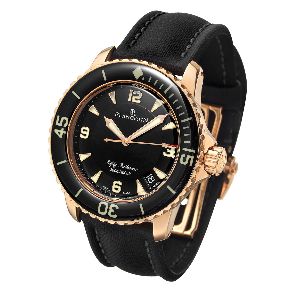 Fifty Fathoms Rose Gold (5015-3630)