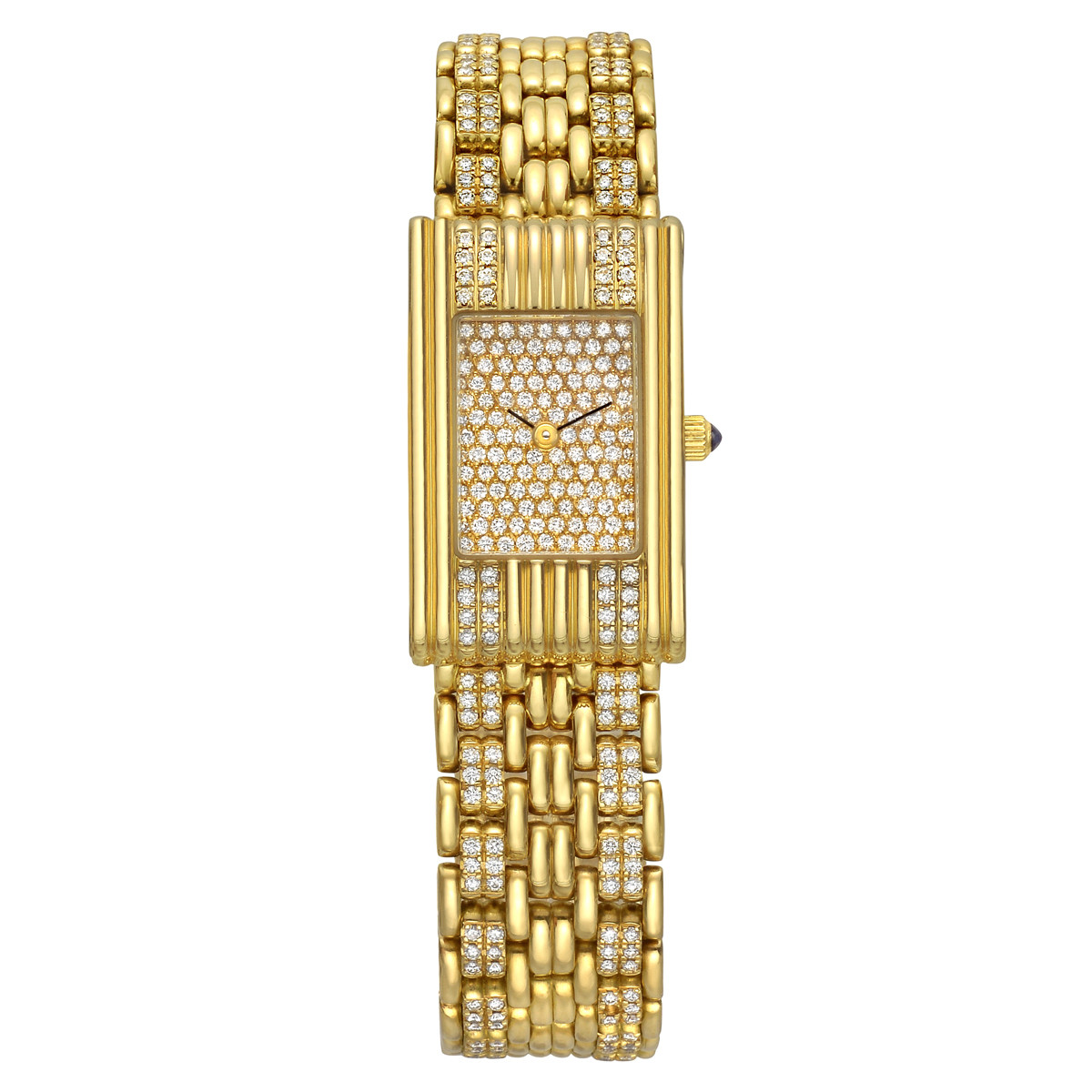 Reflet Yellow Gold & Diamond Wristwatch